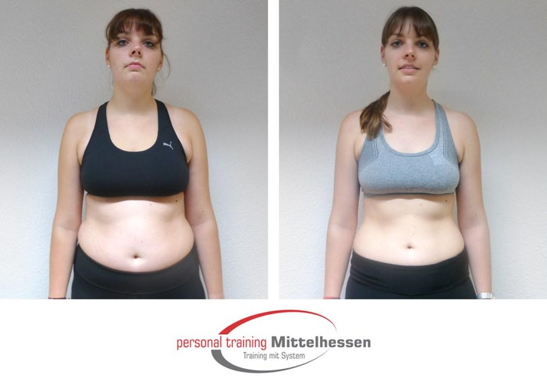 Körperfett reduzieren Frau