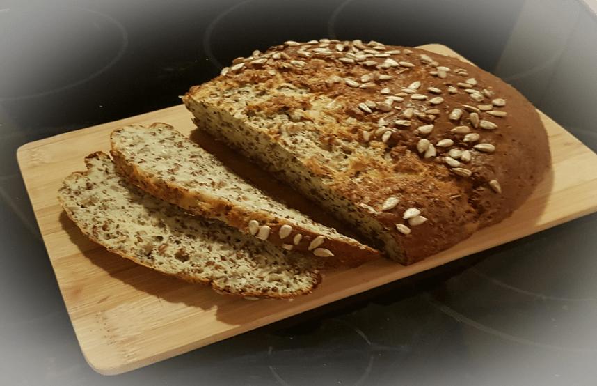 Rezept für Low-Carb-Brot