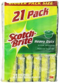 Scotch-Brite Stainless Steel Scouring Pad, 4-Pack, 12 ...
