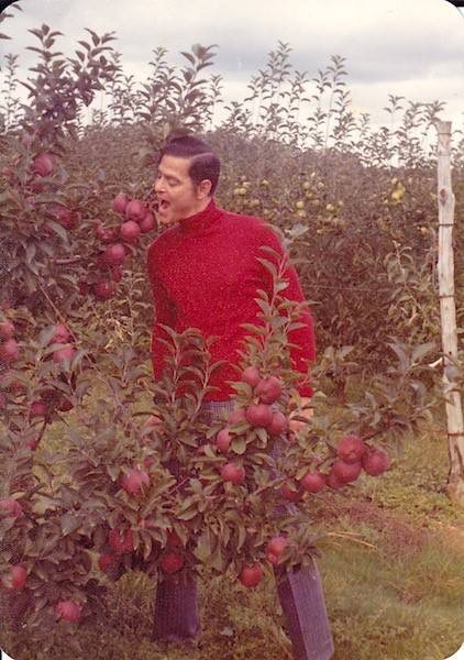 Dad and the forbidden fruit