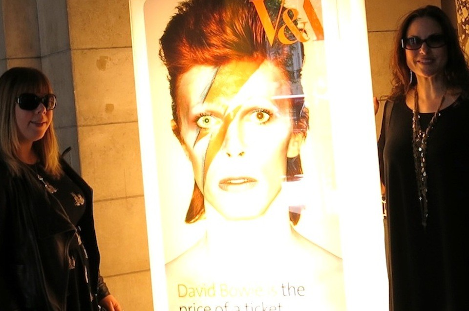 Bowie Exhibition at the V&A London