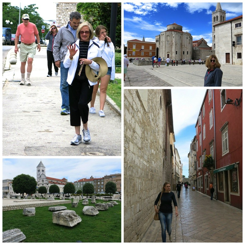 Exploring Zadar with my family