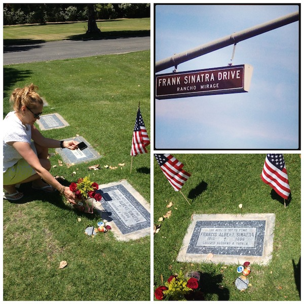 Paying respect to Frank Sinatra