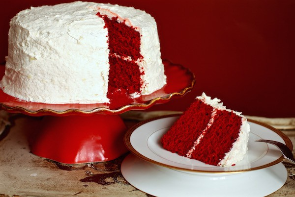 Waldorf Astoria Red Cake