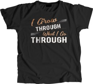 personal growth t-shirt