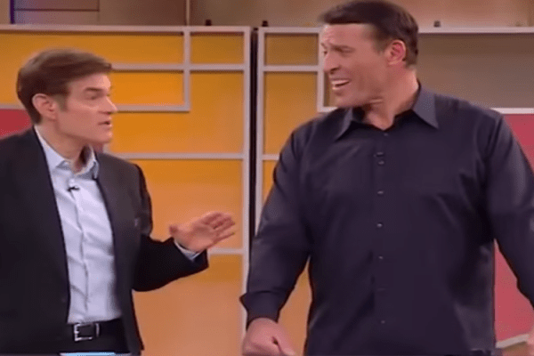 Dr Oz Tony Robbins
