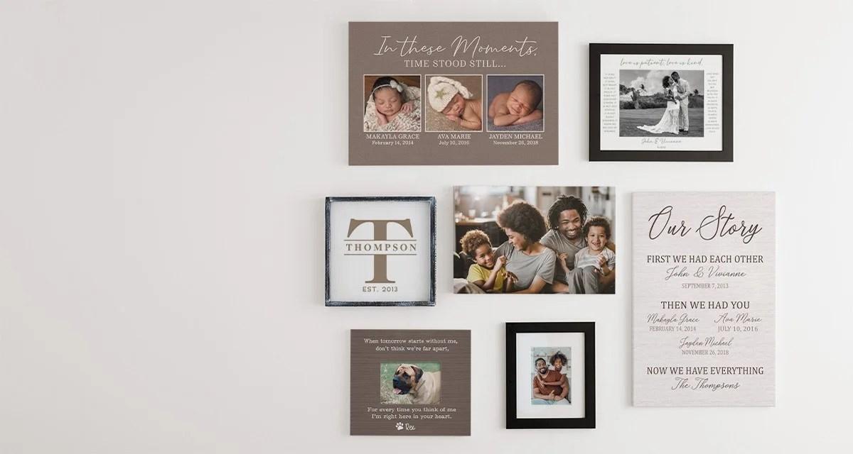 personalized wall art personalizationmall