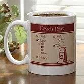 Personalized Coffee Mugs - Your Blend - 10542