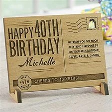personalized birthday gifts for