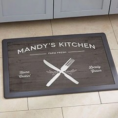 Cheap Kitchen Floor Mats 18 Inch Doll Furniture Personalized Personalizationmall Com Farmhouse