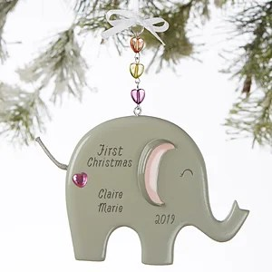 Baby First Christmas Photo Ornament