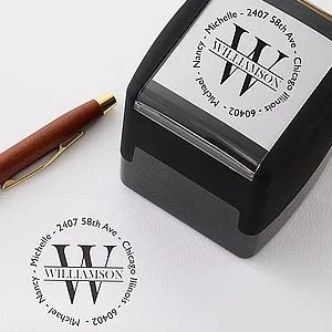 personalized stamps return address