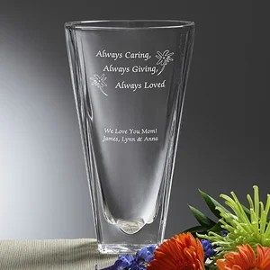 personalized flower vases personalizationmall