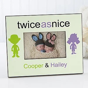double trouble personalized twin