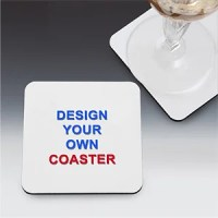 Design Your Own Custom Drink Coasters - Design Your Own