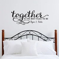 Personalized Family Vinyl Wall Art - Together Is The Best ...