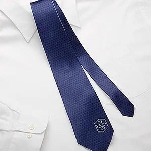 Classic Monogram Personalized Men's Tie