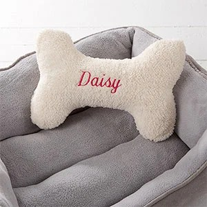 personalized kitchen towels retro wall clock dog bone pet pillow - small gifts