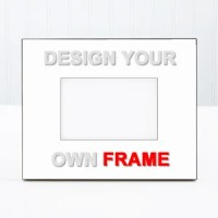 Design Your Own Personalized Picture Frame - Design Your Own