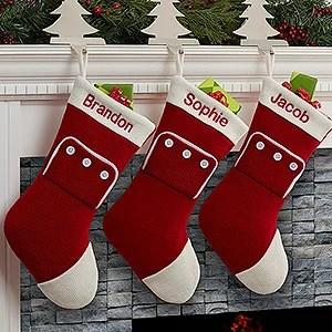 Personalized Family Christmas Stockings Pajamas