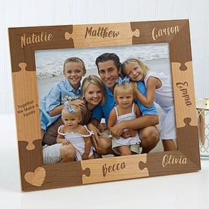 Personalized Together We Make A Family Puzzle Picture