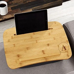 Personalized Bamboo Lap Desk