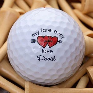 Loving Hearts Golf Ball Set - Non Branded