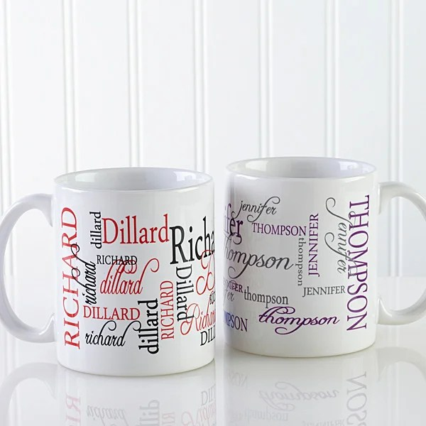 personalized coffee mugs my