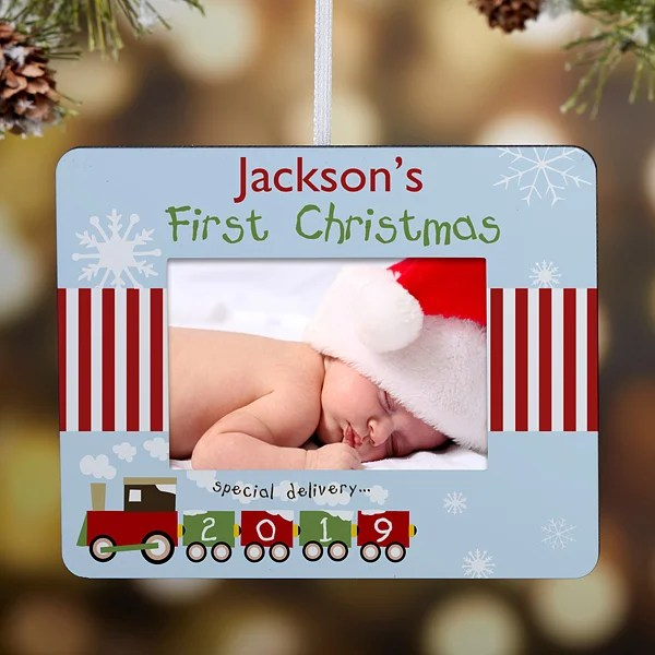 first christmas personalized mini