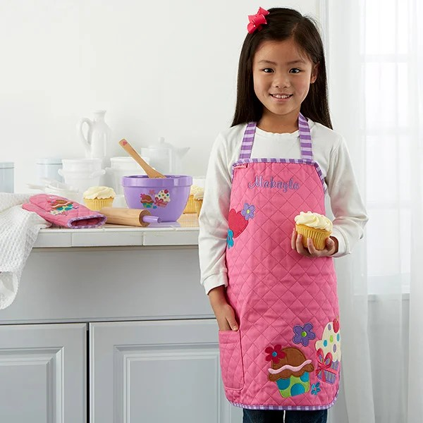 Embroidered Kid's Apron