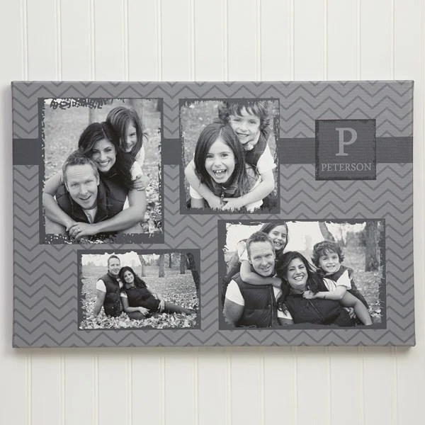 4 photo collage custom