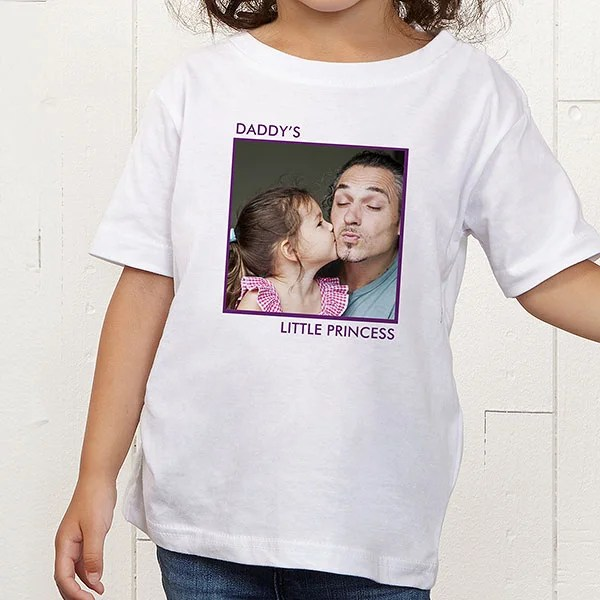 personalized photo toddler t