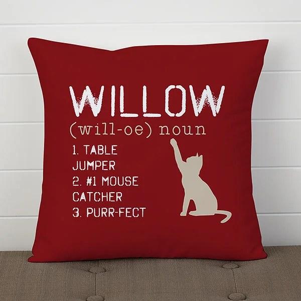 custom cat pillow 14