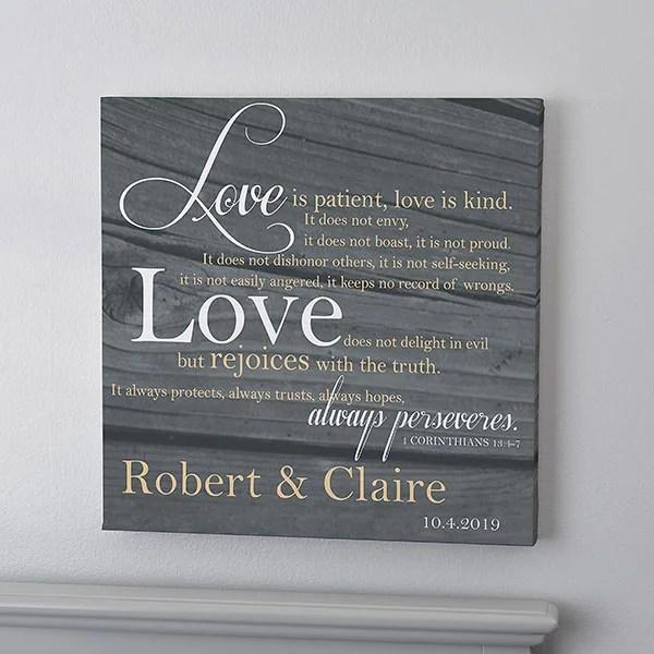 love is patient 24x24