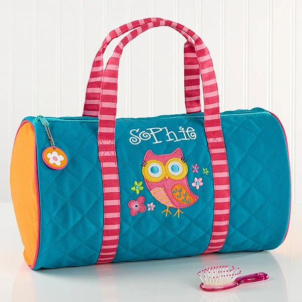 personalized kids duffel bag