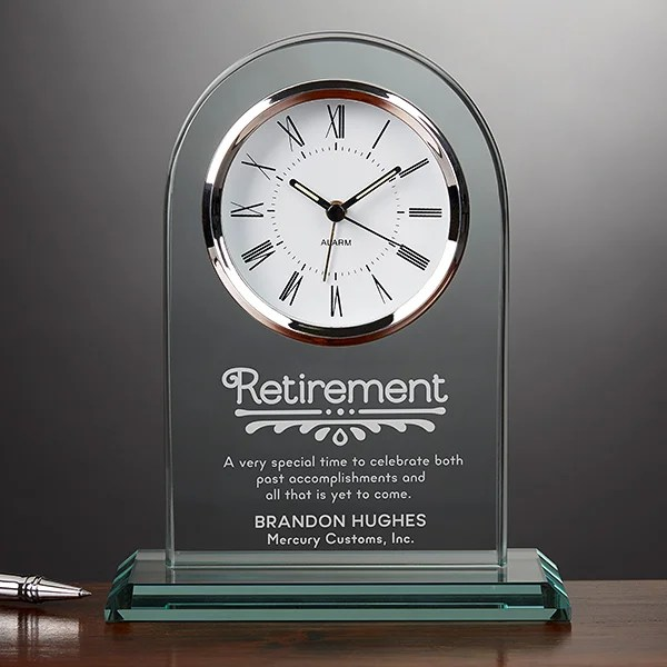 timeless recognition personalized retirement