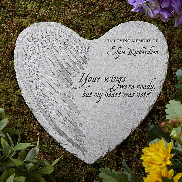 your wings personalized memorial