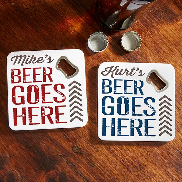 beer goes here personalized