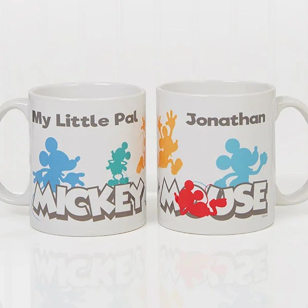 mickey mouse personalized coffee