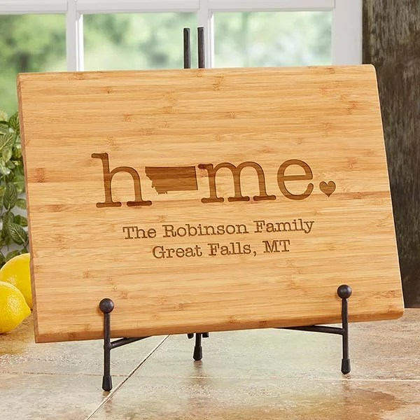 home state 10x14 engraved