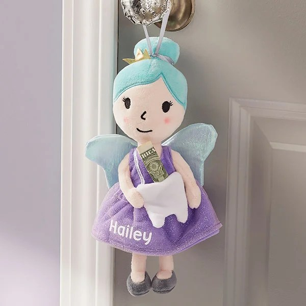 sweet dreams personalized tooth fairy pillow