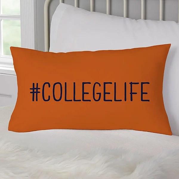 graduation scripty style personalized lumbar throw pillow graduation gifts