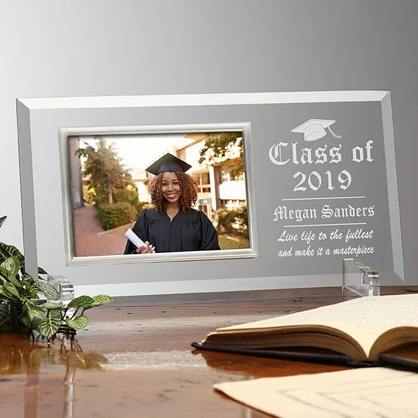 the graduate personalized glass