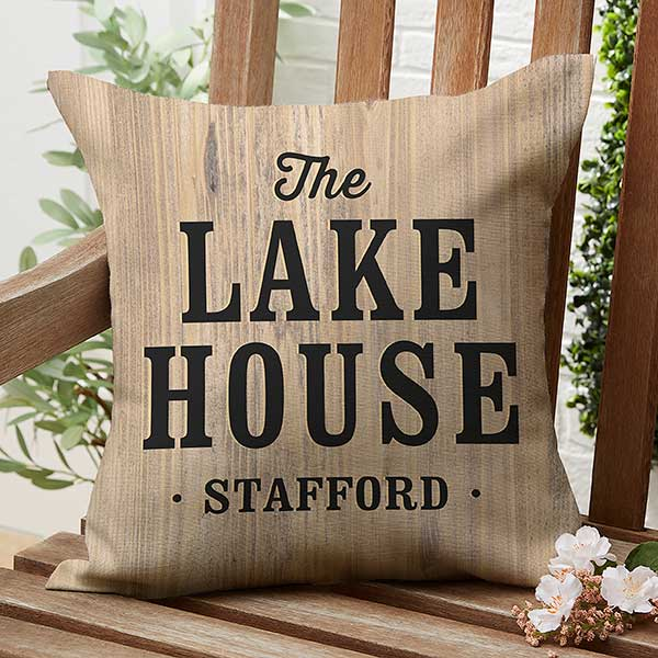 home away from home personalized 16 outdoor throw pillow