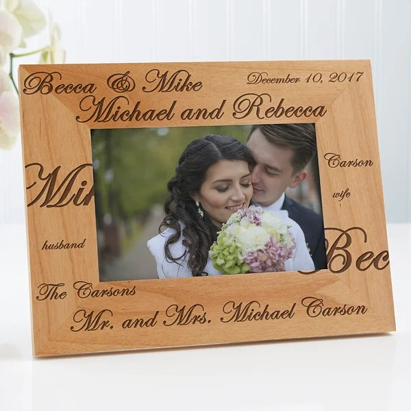 Personalized Picture Frames