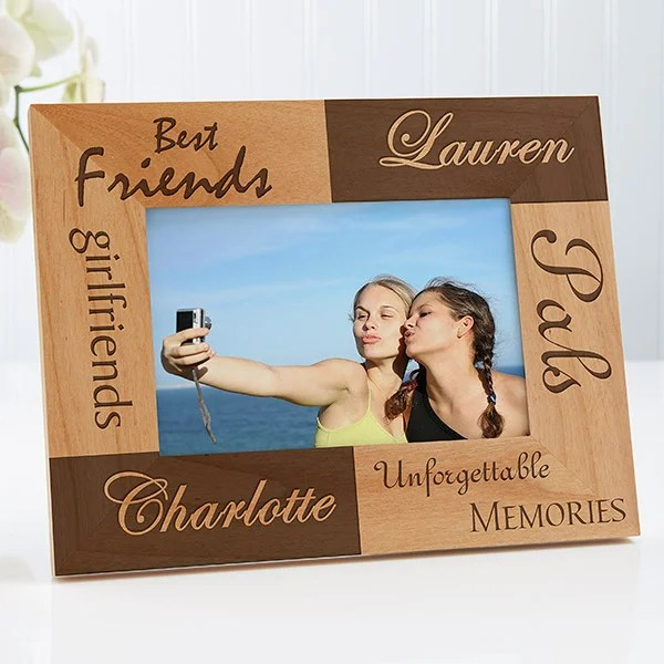 personalized best friends frame