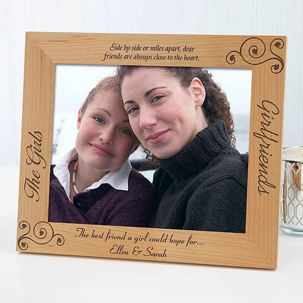 personalized girlfriends picture frames