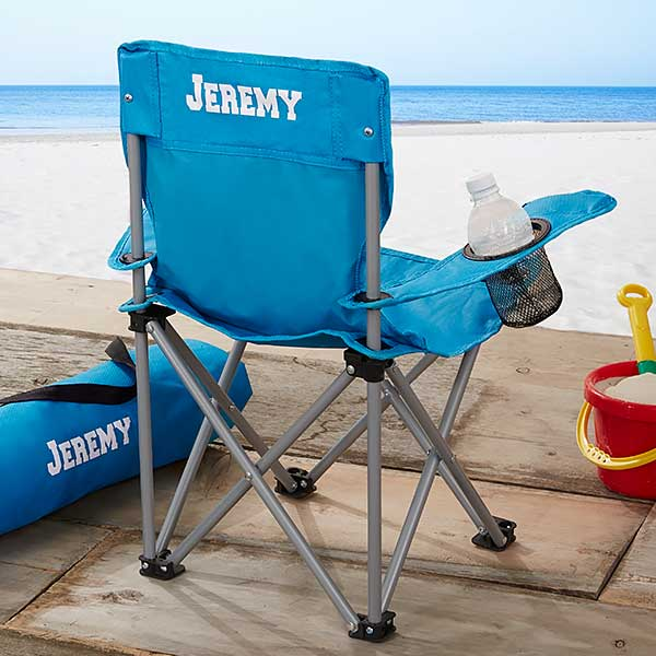 folding chair for toddler poolside chairs target kids personalized blue 7497 b