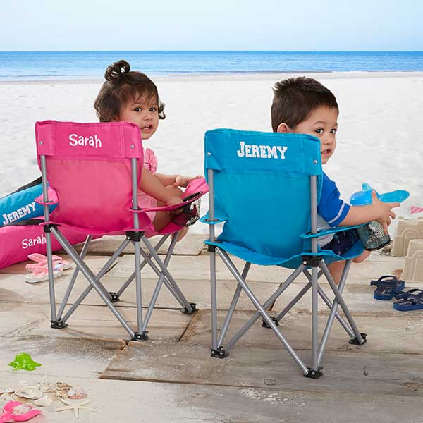 personalized folding chair old chairs painted kids pink 7719