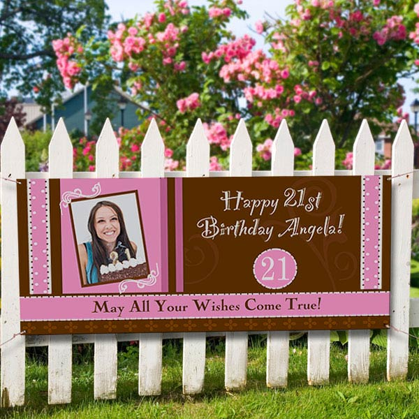 birthday party personalized photo
